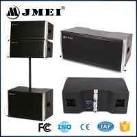 Black Wood Aluminum Line Array Speakers 2 X 8 Inch 400W For Live Show