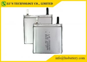 China 3V Li-MnO2 Lithium Primary Battery 3000mAh CP505050 Soft Cell For Medical Devices on sale