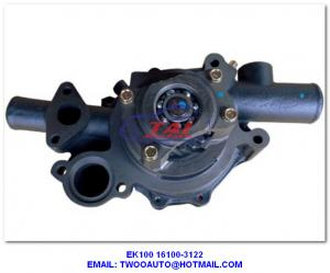 China EK100 16100-3122 Water Pump, HINO Ek100 Water Pump 16100-3122 For Truck Spar Parts on sale