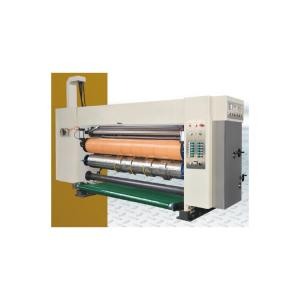 China 250 Pieces Flexo Folder Gluer Machine Case Making Cardboard Printing on sale