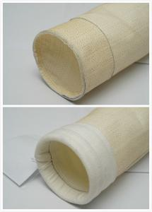 China Air Pocket High Temperature Filter Bags Aramid Filter Bag With PTFE Membrane on sale