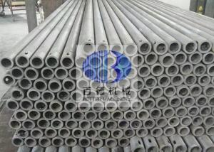 China Sanitary Wares Silicon Carbide Pipe SiSiC Material High Temperature Resistance on sale