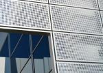 Punching Hole Anodizing Aluminum Architectural Screen Panels Customizable For Walls