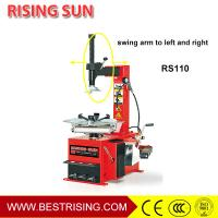 Semi automatic swing arm car tire changer for workshop