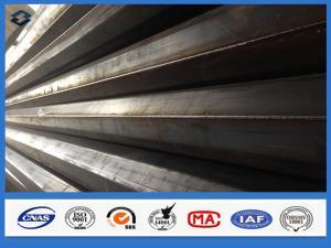 China 11m Q345 Polygonal Hot dip Galvanized Electric Transmission Steel Pole on sale