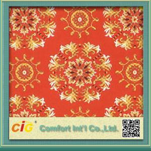 China Colorful Carpet Fabric , Mosque Carpet Material for Prayer Carpet Soft and Durable on sale