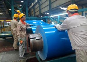 China Prepainted Color Coated Galvalume Roll Steel Coil, Gi PPGI Spangle SPCC SGCC Dx51d Grade 0.12mm to 1.2mm on sale