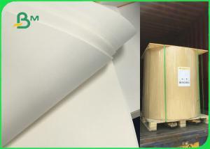 China FSC White Food Grade Bleached Kraft Paper Roll 60gsm 70gsm 80gsm 120gsm on sale