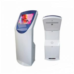 China Multi Function Touch Screen Floor Standing Kiosk For Information Display on sale