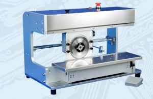 China Automatic V Scroing PCB Depaneling Tool With Adjustable Conveyor Belt on sale