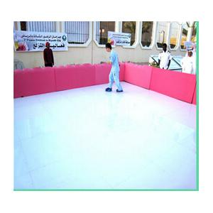 Quality uhmwpe synthetic ice skating rink/ hockey rink boards for sale