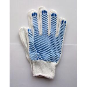 China Le PVC pointillent le gant, 40g, gant de pince de Knit de ficelle, gants de pince de Knit de ficelle, les gants de sécurité enduits par latex pour la construction on sale
