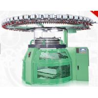 Seamless Weaving Industrial Sweater Knitting Machine RPM30 Bright Green Color