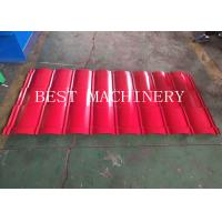 Galvanized Glaze Steel Tile Roof Sheet Roll Forming Machine