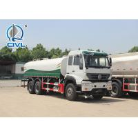 China New Howo Heavy Duty 6x4 Water Tank Truck 371 Horsepower Liquid Tanker Truck on sale