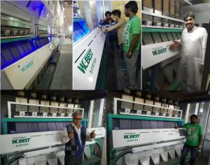 China Best quality. large capacity. steady performance grain. rice color sorter machine China made on sale