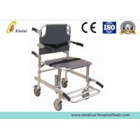 China 159kg Aluminum Alloy Medical Emergency Stair Folding Stretcher With Four Wheels ALS-SA132 on sale
