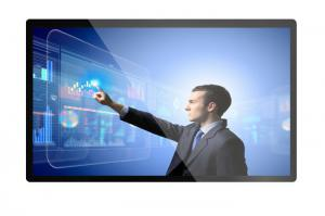China Zero Bezel Industrial Touch Screen Monitor , High Definition 55 Inch Lcd Monitor on sale