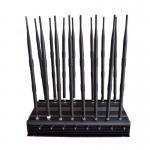 16Antennas GSM 3G 4G WIFI Lojack GPS L1-L5 VHF UHF RF(315/433/868)Jammer