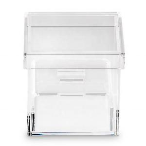 China acrylic jewelry box packaging box storage organizer custom clear on sale