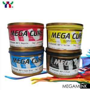 China [MEGACURE] High Quality Japan Brand UV Offset Printing  Ink cmyk colors on sale