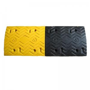 China crush-resistant rubber speed hump on road on sale