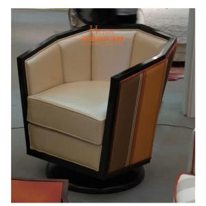 China Black Lounge Sofa / Wooden Lounge Chair For Hotel Lobby 2 Years Gurantee on sale