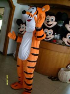 Quality projete o traje da mascote do tigger do caráter de Disney para o adulto for sale