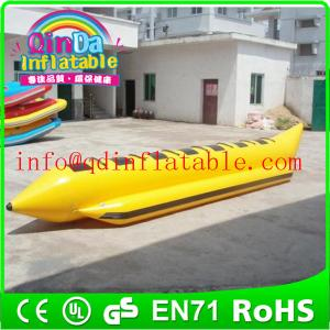 China Inflatable aqua flyfish/banana boats inflatable flying boats for water sports on sale