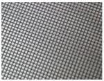 Rede de arame tecida revestida preta da resina de cola Epoxy para uma contagem de 28 malhas, diâmetro de fio 0.35mm