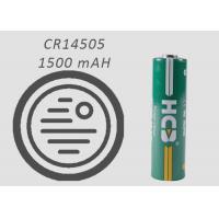 AA Spiral Hermetic Sealing 1500mAh Lithium Mno2 Battery For Smoke Detectors