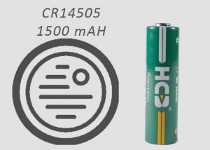 China AA Spiral Hermetic Sealing 1500mAh Lithium Mno2 Battery For Smoke Detectors on sale