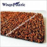 Wings factory produce wholesale colorful style pvc soft car mat