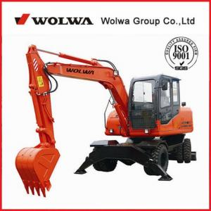 China Wolwa 8t 0.4cbm DLS890-9A Wheeled Hydraulic Excavator on sale
