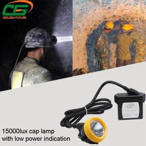 China IP65 Safety Underground Led Mining Cap Lamp 1 Watt Light Weight on sale