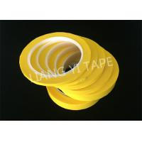 PET Film Transformer Insulation Tape , Heat Resistance Insulation Yellow Mylar Tape