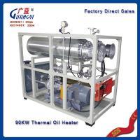 hot oil boiler for hot press machine