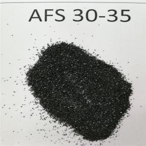 China For Casting steel high density Foundry chromite sand/chrome ore sand AFS 30-35 on sale