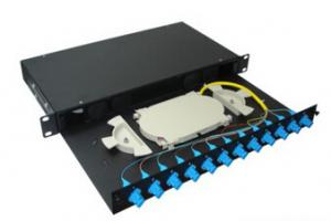 China 1U 19 6/12/24 Ports Fiber Optic Patch Panel on sale