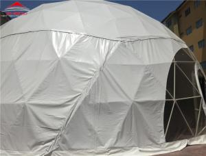 China Geodesic 10m-30m Dome Event Tent For Supermarket , Car Show , GYM on sale