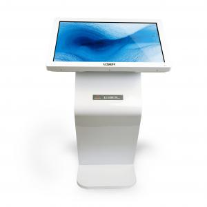 China Android Operating Touch Screen Information Kiosk Floor Stand TFT Panel Type on sale