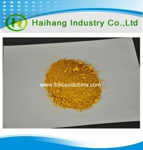 China Bulk supply Folic acid Vitamin b9 fine powder in stock with high quality on sale