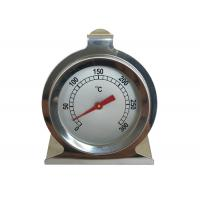 Dial Pocket Round Bimetal Internal Oven Thermometer , Pizza Oven Thermometer