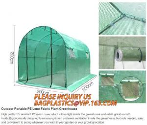 China pc aluminum garden green house,portable houses garden green house,China-made new design green house for agriculture/comm on sale