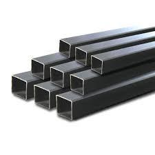 China Engineering Purposes Square Steel Pipe , Railing Square Pipe Low Carbon Content on sale