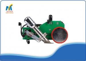China PVC Outdoor Banners Leister Welding Machine , Hot Air Welding Machine With Plastic Welding Gun on sale