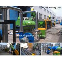HDPE bottle Plastic Washing Line Stainless steel for wet contacting parts