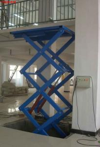 China 380v / 50hz Electric Scissor Hydraulic Lifting Equipment Lift Table on sale