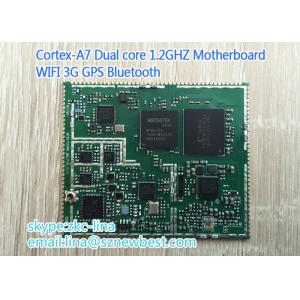 China Stable Compact  A7 Android DDR2 Motherboard Dual Core Extensible on sale