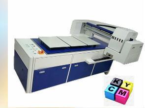 China Digital T Shirt Printing Machine Flatbed T Shirt Machine For Ricoh Printer on sale